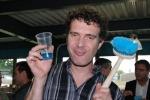 Gilles et la brosse ovale portugaise