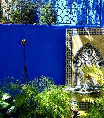 Photos Murs Extérieurs Bleu Majorelle La Suite Color Rare