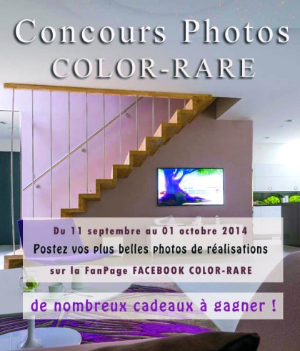 affiche concours photo color-rare