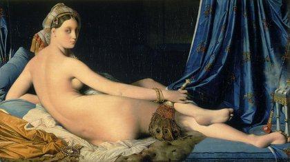 La Grande Odalisque, 1814,  Jean-Auguste_Dominique INGRES