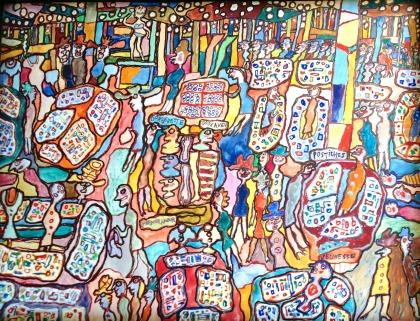 Jean Dubuffet - Galeries Lafayette 1961