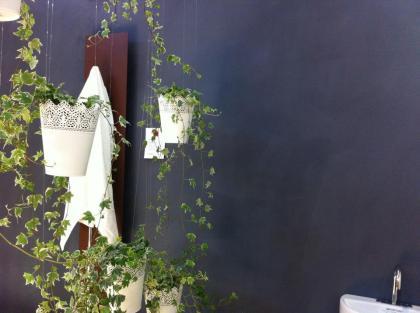 Mur à la chaux par Color-Rare, salon Vivons Maison 2014