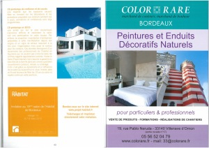 Invitation gratuite au salon projet habitat color rare for Salon habitat bordeaux