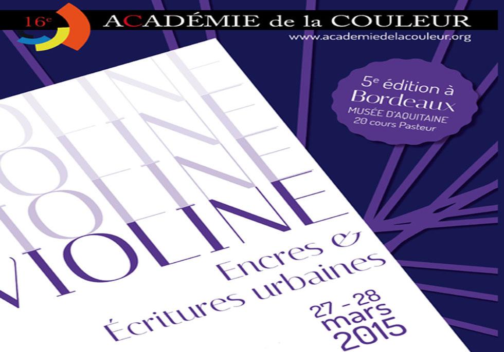 Académie de la couleur 2015